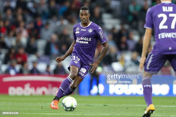 Somalia of Toulouse during the Ligue 1 match between Toulouse and AS SaintEtienne at Stadium Municipal on October 29 2017 in Toulouse