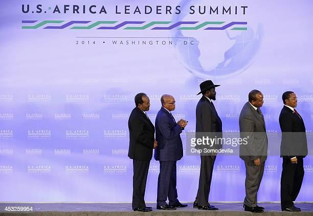 Somalia President Hassan Sheikh Mohamud South Africa President Jacob Zuma South Sudan President Salva Kiir Swaziland King Mswati III and Tanzania...