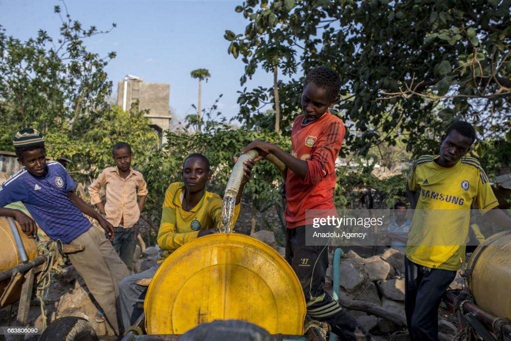 Drought threats lives in Somalia : News Photo