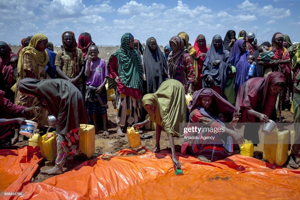 Drought threatens lives in Somalia : News Photo