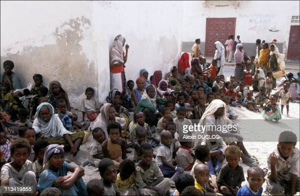 Somalia's Suffering On January 1st, 1992 - Merca:Rrefugees