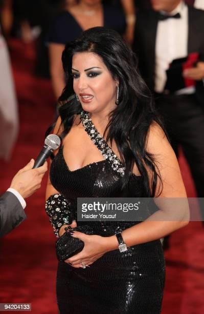 Somaya Khashab attends day one of the 6th Annual Dubai International Film Festival held at the Madinat Jumeriah Complex on December 9 2009 in Dubai...