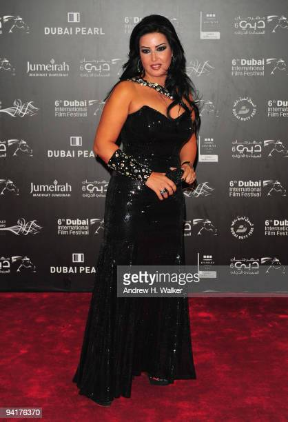 Somaya Khashab attends the Opening Night during day one of the 6th Annual Dubai International Film Festival held at the Madinat Jumeriah Complex on...