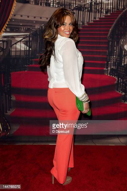 Somaya Reece attends the Lil' Kim 'Return Of The Queen' Tour at Paradise Theater on May 18 2012 in New York City