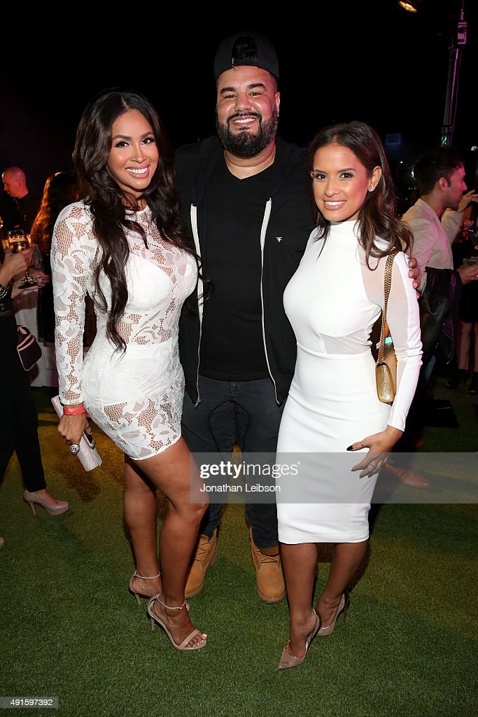 Somaya Reece, Chuey Martinez and Rocsi Diaz attend the Latina 'Hot List' Party hosted by Latina Media Ventures at The London West Hollywood on October 6, 2015 in West Hollywood, California.