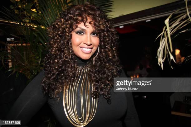 Somaya Reece seen at Ricardo's Steak House on January 19, 2012 in New York City.