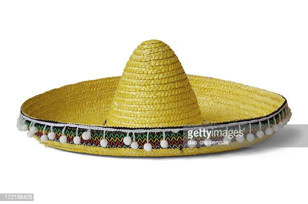 sombrero hat - mexican hat stock pictures, royalty-free photos & images