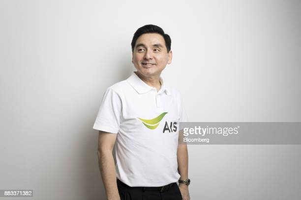 Somchai Lertsutiwong chief executive officer of Advanced Info Service Pcl poses for a photograph in Bangkok Thailand on Wednesday Nov 29 2017 AIS the...