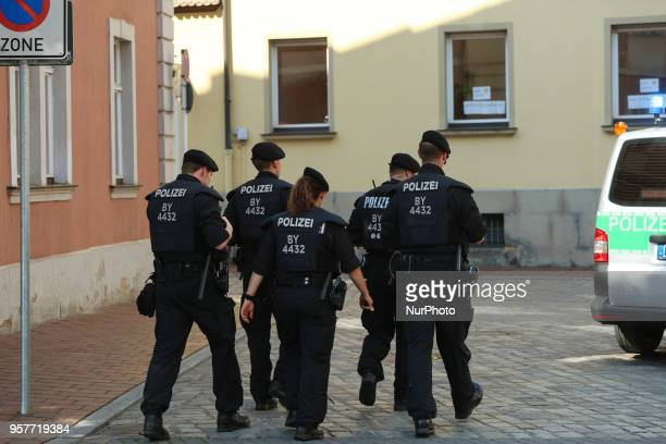 Some 1500 people demonstrated against the Bavarian Polizeiaufgabengesetz through the city of Bamberg in Northern Bavaria Experts say that the PAG is...