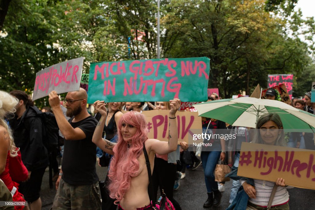 Protest Against Sexism In Munich : News Photo