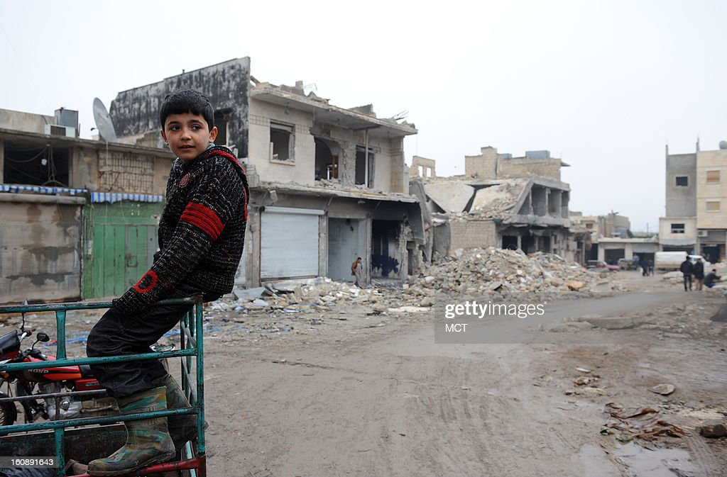 Some 60 civilians, most of them internaliy displaced, died and more than 100 were wounded when the Syrian army bombed the souk (main market) and surrounding houses in Azaz, northern Syria, in mid-January.