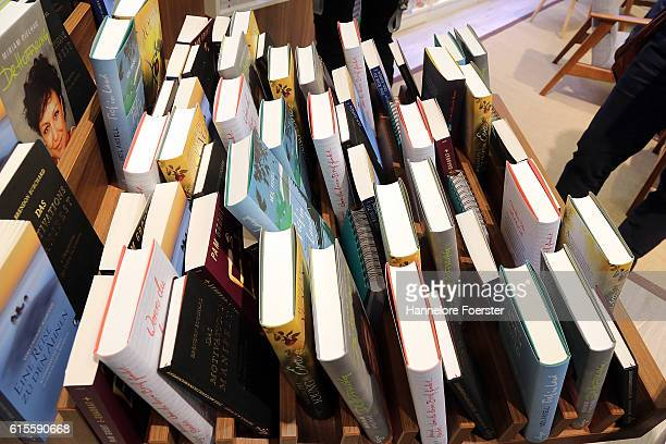 World book fair fotografas e imgenes de stock getty images some books in a shelves at the 2016 frankfurt book fair on october 19 2016 in gumiabroncs Image collections