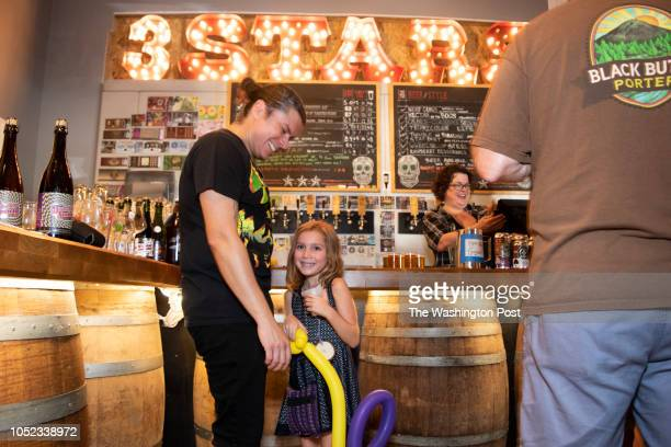 WASHINGTON DC OCTOBER Some breweries are going out of their way to limit the hours kids can be present in taprooms 3 Stars Brewing Company on the...