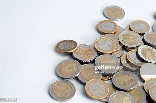 Certaines pièces en Euro