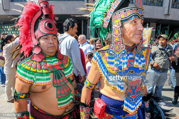 mexico - virgin of guadalupe - pilgrims - native american - pilgrims and indians stock photos and pictures