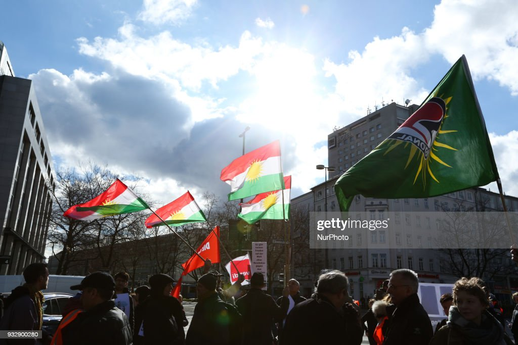 'Yesterday Halabja - today Afrin' protest in Munich