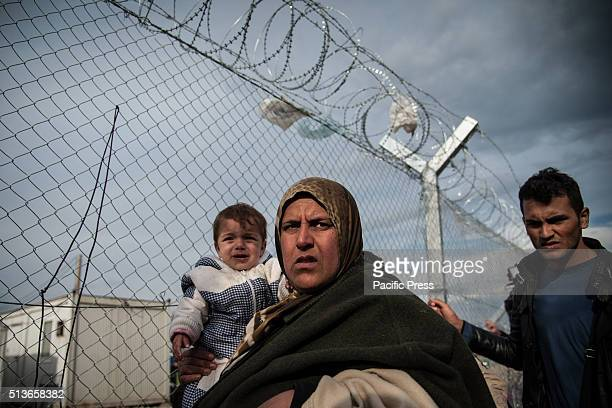 Some migrants at the GreekMacedonian border The transit camp at the border is becoming increasingly overcrowded as thousands of refugees continue to...