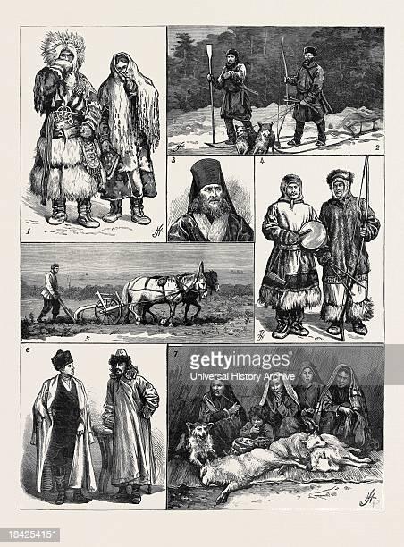 1 Yurak Samoyede Man And Woman 2 Russian Peasant Exiles On The Obi 3 The Archbishop Of Krasnoiarsk On The Yenesei 4 Yurak Shaman Or Priest And...