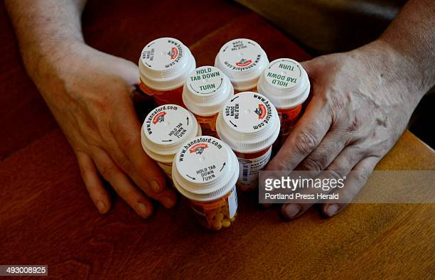 Some of Roger Kidder's medications that he struggles to purchase since losing Medicaid Three for antidepressants and two to control high cholesterol...