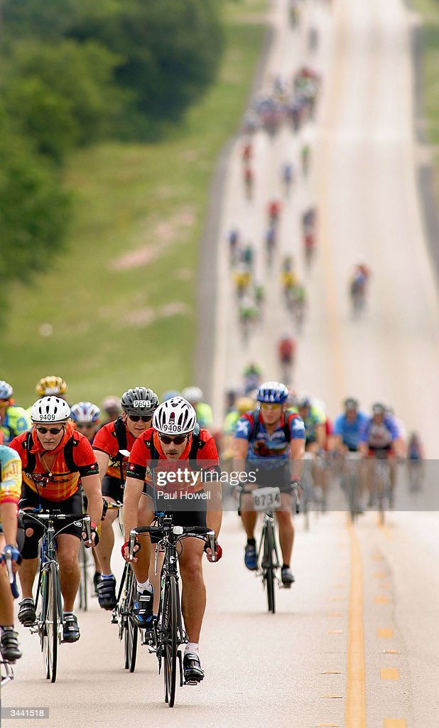 BP MS 150 Bike Tour : News Photo