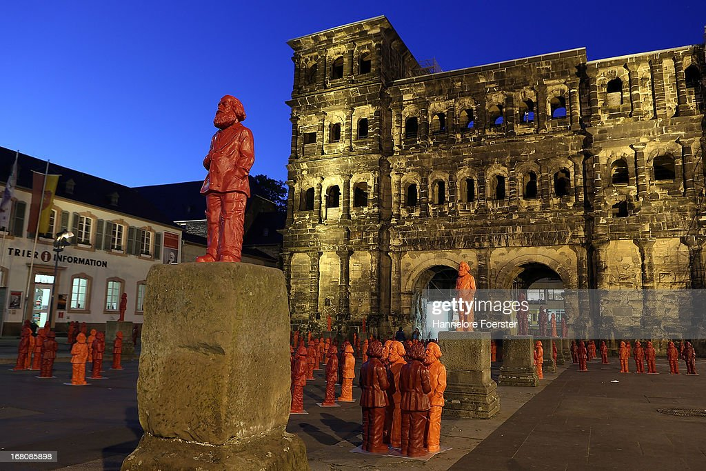500 Karl Marx Statues Are Highlight Of Trier Exhibition : News Photo
