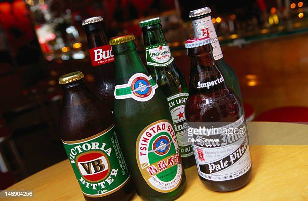 Some of the best beers from around the world are available at the Bar La Dolce Vita, Hong Kong Island
