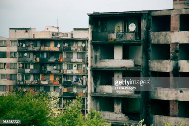 Some of the blocks have been demolished because they didn't pass safety standards anymore The residents of those buildings had to leave One of the...