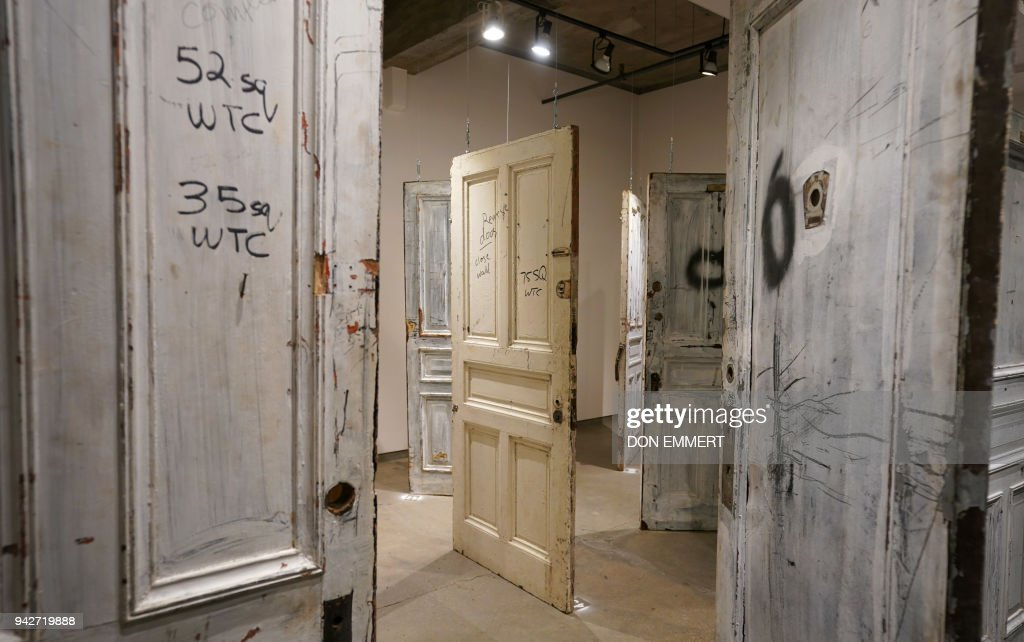 Some of the Chelsea doors hang on display at Ricco/Maresca Gallery April 6 & Some of the Chelsea doors hang on display at Ricco/Maresca Gallery ...
