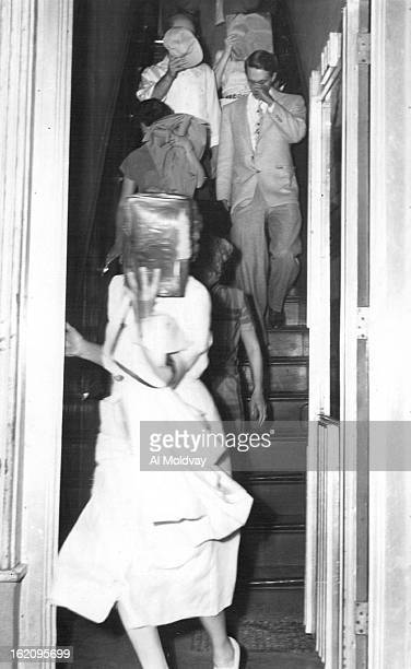 JUN 22 1953 JUN 23 1953 Some of the forty persons who attended a meeting Monday night to protest the execution of atom spies Julius and Ethel...
