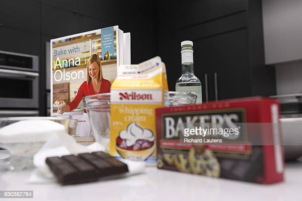 TORONTO ON DECEMBER 12 Some of the ingredients ready to go Famed food personality Anna Olson made a glutenfree Jelly Roll in the Star test kitchen It...