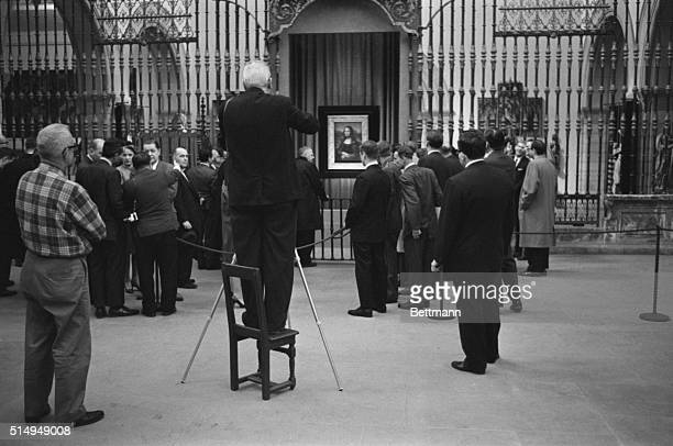 Some of the most valuable property in the world is art In this 1963 file photo a photographer views Da Vinci's famed Mona Lisa while it was on...