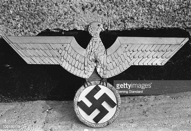 Some of the Nazi memorabilia found at the home of English serial killer Patrick Mackay 3rd November 1975 Mackay claimed to have murdered eleven...