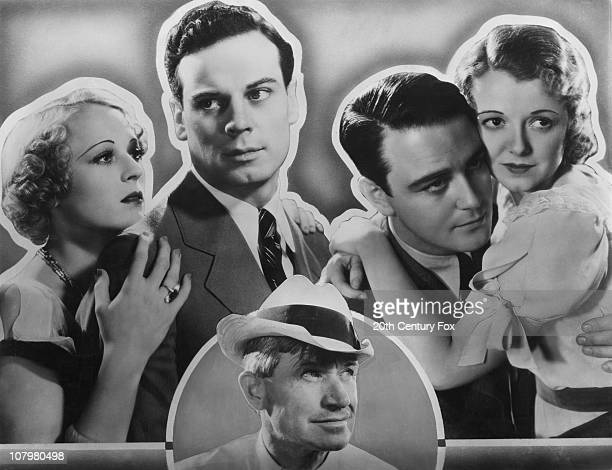 Some of the stars of the film 'State Fair' 1933 From left to right actors Sally Eilers Norman Foster Will Rogers Lew Ayres and Janet Gaynor star in