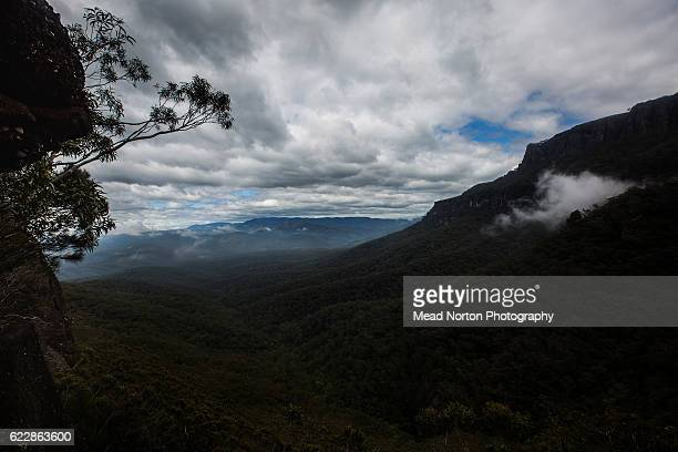 Some of the stunning views racers were treated to hiking up to 'The Castle' in Morton National Park during the Adventure Race World Championship on...