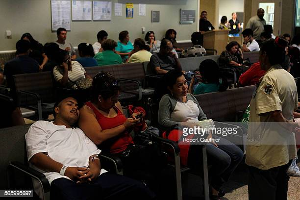 Some patients wait as long as 10 hours to see a doctor at the LA County/USC emergency room