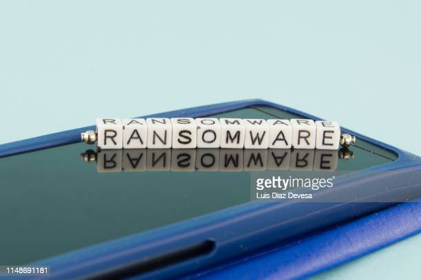 Some people are using their mobile phones for making ransomware