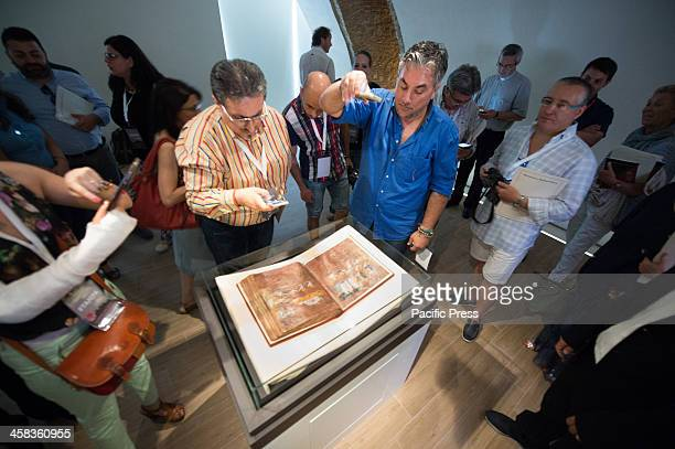 Some people look the Codex Codex Purpureus returned after restoration of Rossano lasted 4 years In October 2015 it was recognized as a World Heritage...