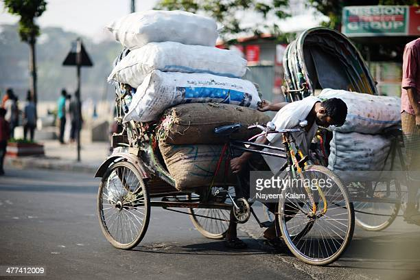 Some rickshaw-wallas are always prone to this kind of an ordeal and on a daily basis, it earns them a little extra but the efforts shorten their...