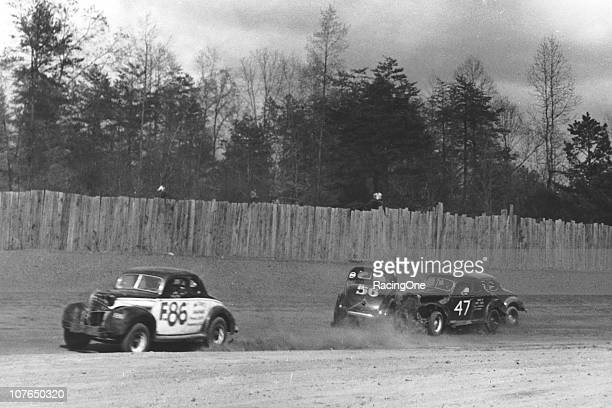 Some rough Modified action at North Wilkesboro Speedway in its early days when it was a dirt track The facility started hosting races in 1947 and ran...
