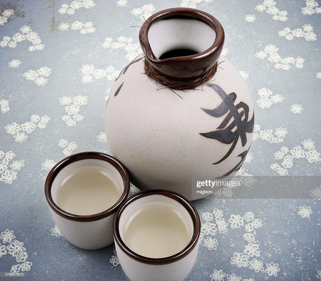 Some Saki : Stock Photo
