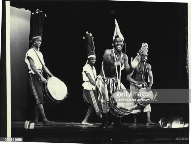 Some scenes from the African Ballet which opened in Sydney at the Theatre Royal last night June 29 1965