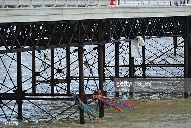 CONTENT] Some storm damage under Cromer pier