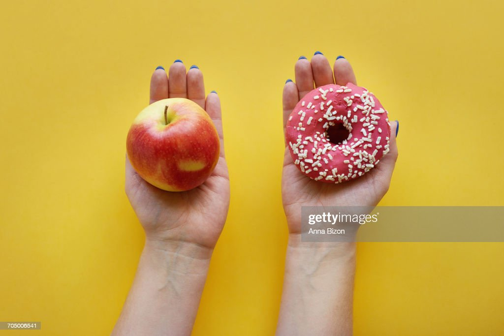 Some sweets are necessary for you. Debica, Poland : Stock Photo