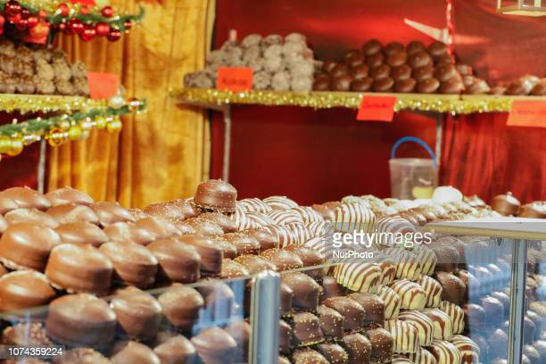 Some traditional sweets The worldfamous Christmas Market of Nuremberg was full of people even if there was heavy snowfall and cold