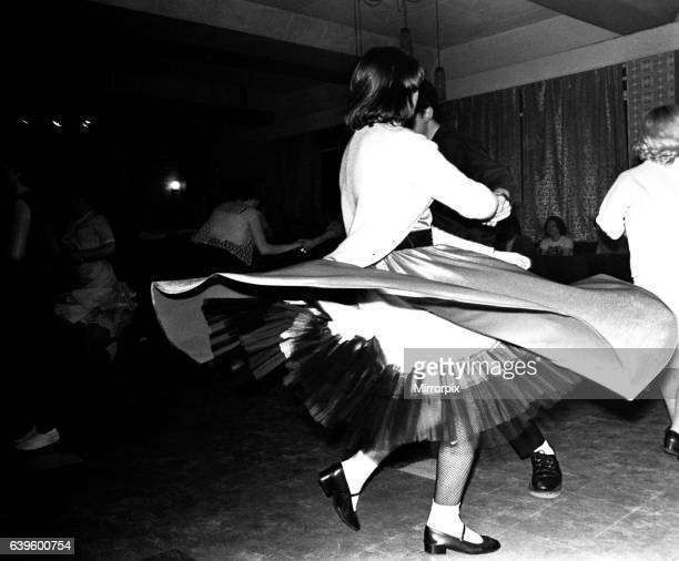 Some young people Rock and Roll dancing at a club in Gateshead on February 15 1980