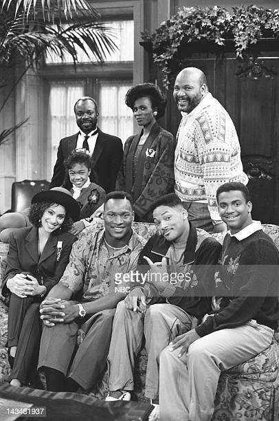 AIR 'Someday Your Prince will be in Effect Part 1 2' Episodes 8 9 Pictured Back Tatyana Ali as Ashley Banks Joseph Marcell as Geoffrey Janet Hubert...
