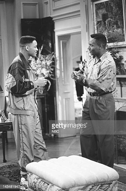 AIR 'Someday Your Prince will be in Effect Part 1 2' Episodes 8 9 Pictured Will Smith as William 'Will' Smith Bo Jackson as Himself
