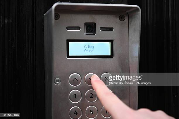 Someone rings the buzzer at the building where Orbis Business Intelligence Ltd is located in central London as Christopher Steele a former British...