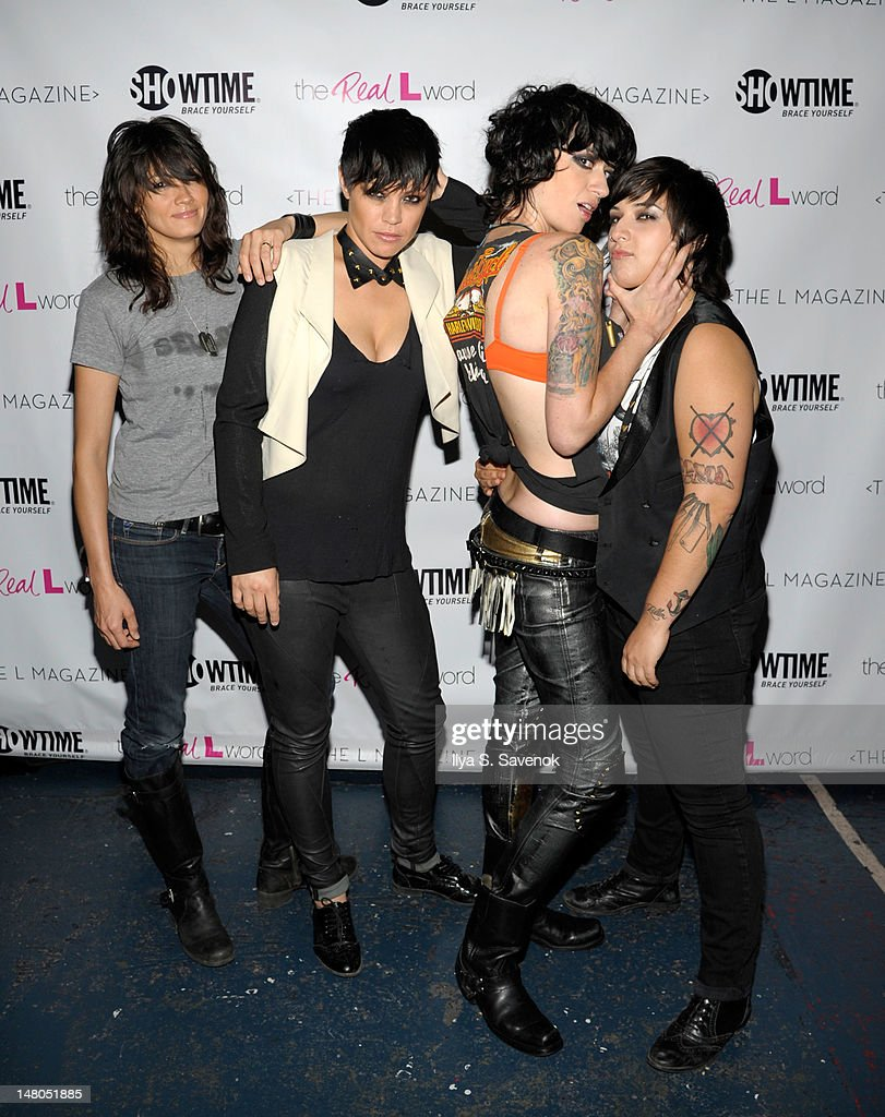 Somer Bingham, Kiyomi McCloskey, Veronica Sanchez And Laura Petracca Of The  Band Hunter Valentine
