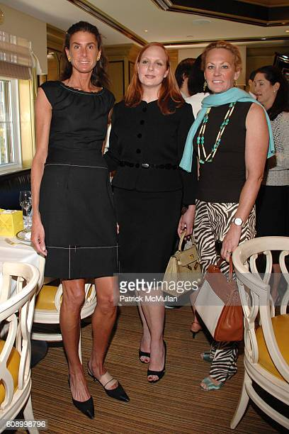 Somers Farkas Anne Grauso and Muffie Potter Aston attend BERGDORF GOODMAN Lunch with Nina Ricci Designer OLIVIER THEYSKENS hosted by ANNE GRAUSO at...